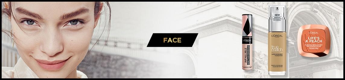 face banner