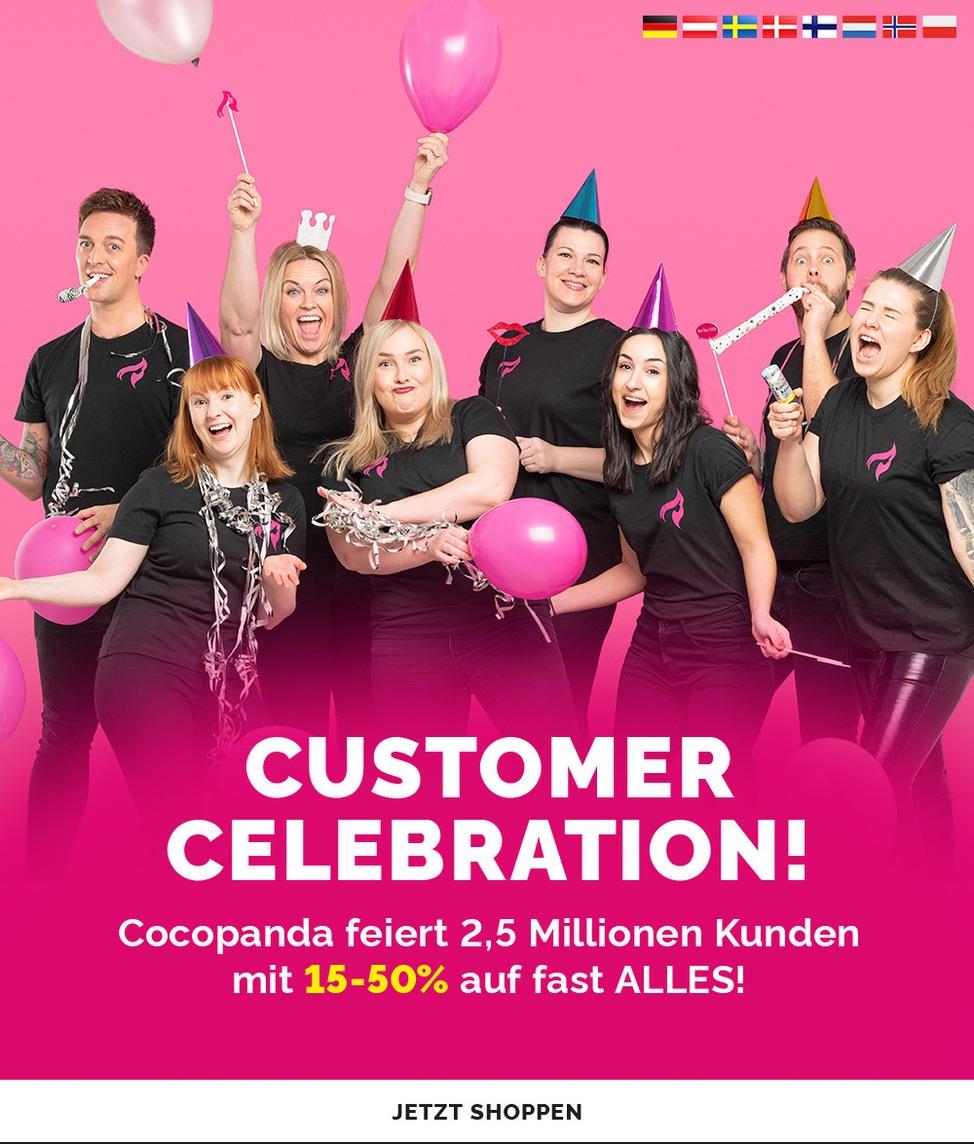 Customer celebration!