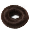 Bravehead Synthetic Hair Bun (klein), braun