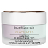 """Bare Minerals ClayMates Mask Duo: Be Bright & Be Firm """""""