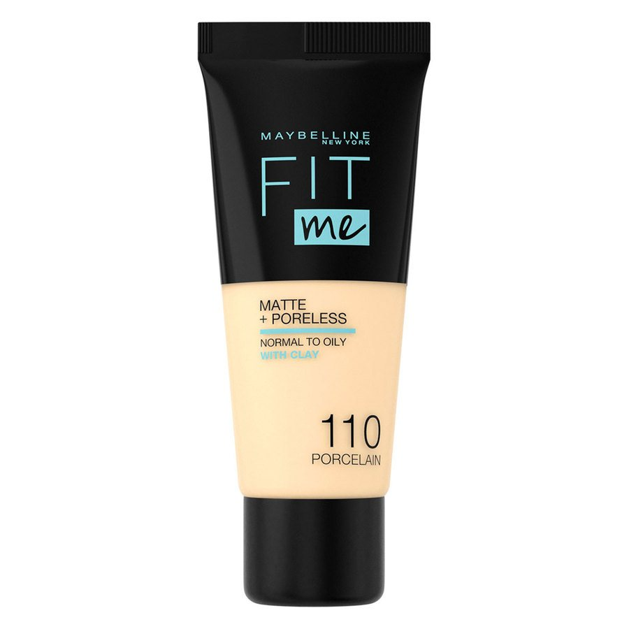 Maybelline Fit Me Makeup Matte + Poreless Foundation 110 30-ml-Tube