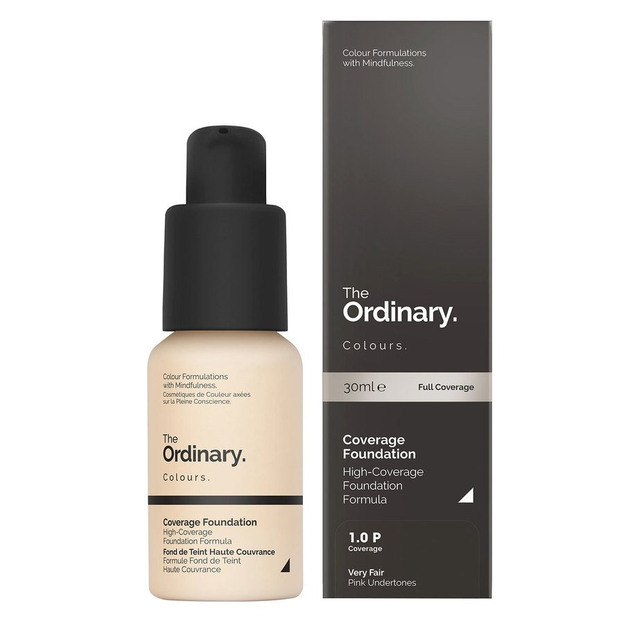 The Ordinary Coverage Foundation 1.0 P very fair Pink