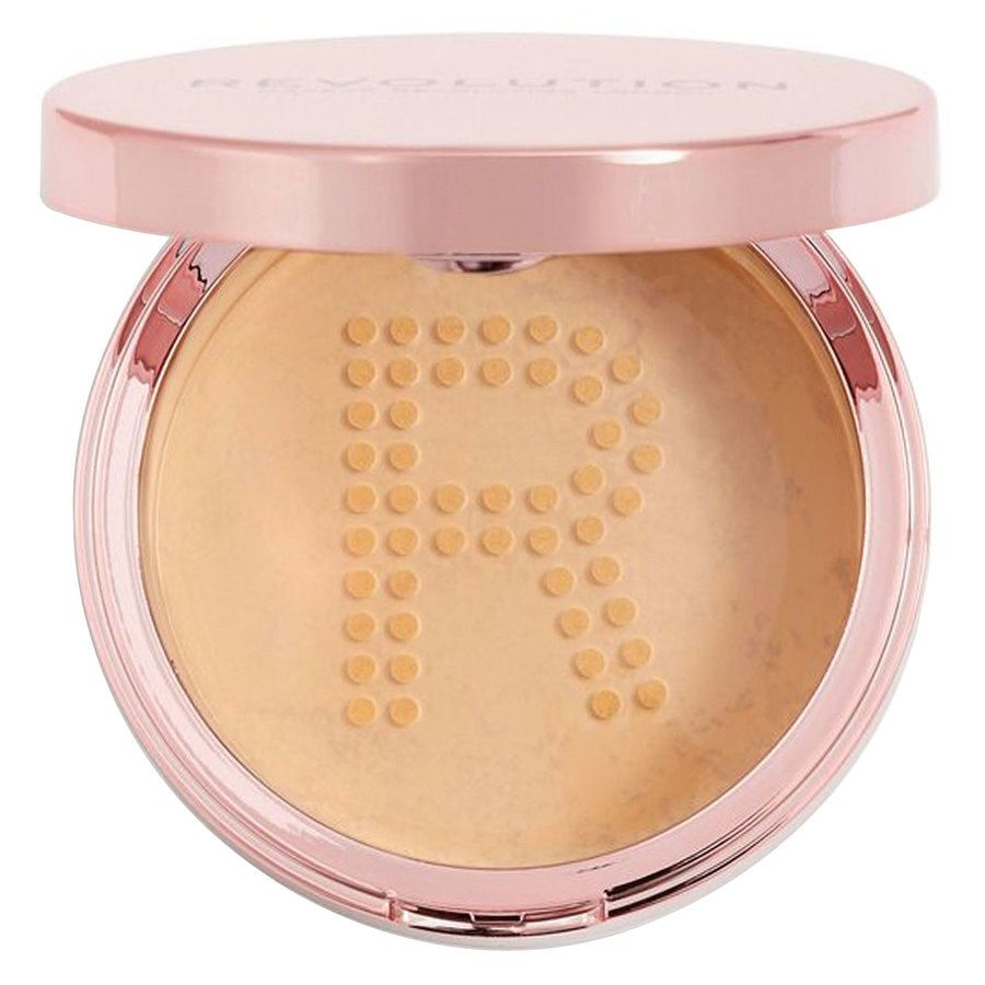 Makeup Revolution Conceal & Fix Setting Powder, Medium Beige (13 g)