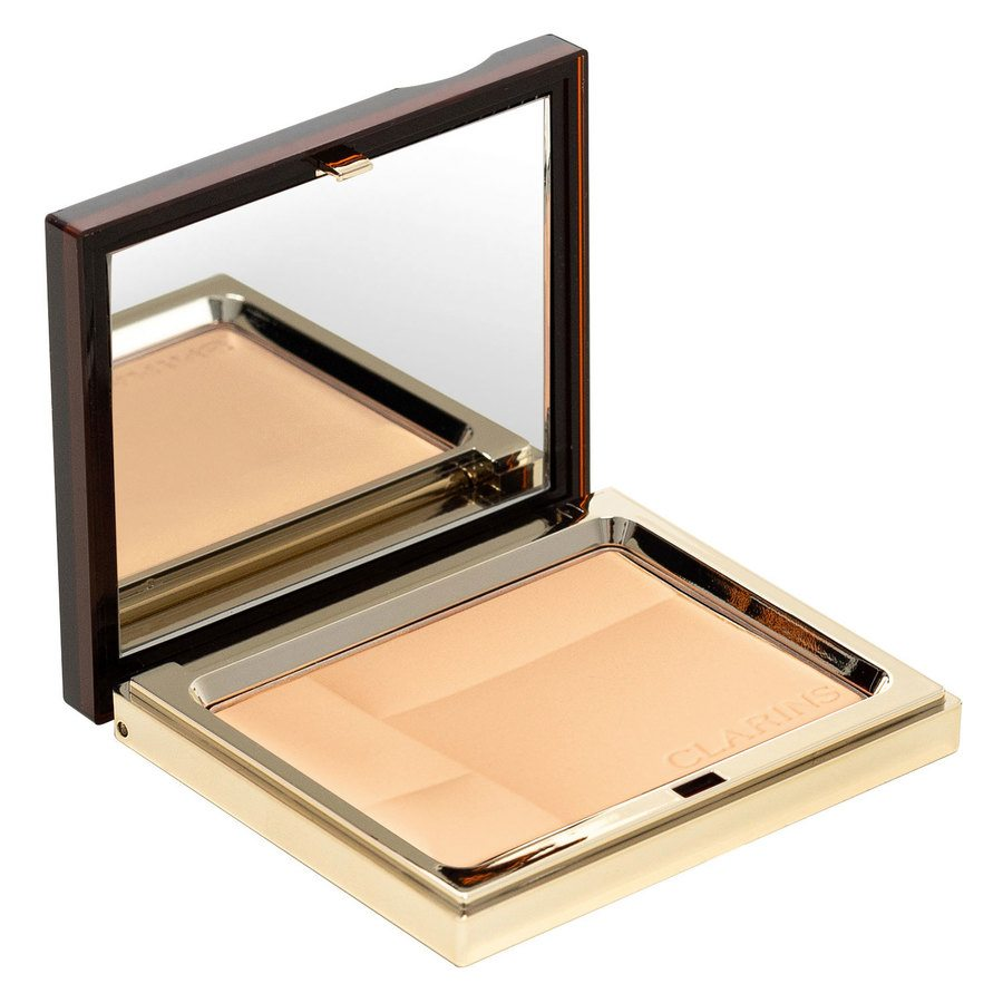 Clarins Ever Matte Mineral Powder Compact, # 02 Transparent Medium (10 g)