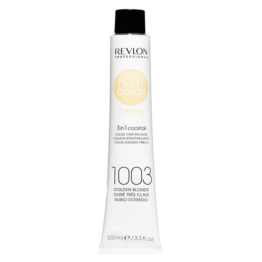 Revlon Professional Nutri Color Creme, #1003 Pale Gold (100ml)