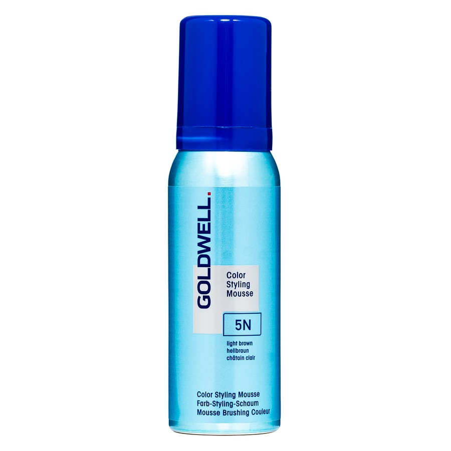 Goldwell Color Styling Mousse, 5N Light Brown (75 ml)