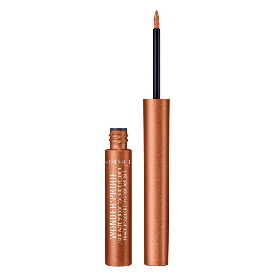 Rimmel London Wonder'Proof Eyeliner, # 001 True Copper (1,4 ml)