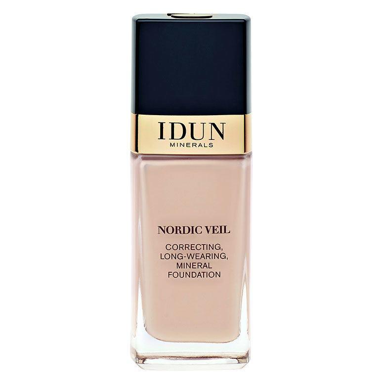 IDUN Minerals Nordic Veil Correcting Long Wearing Mineral Foundation, Freja 26 ml