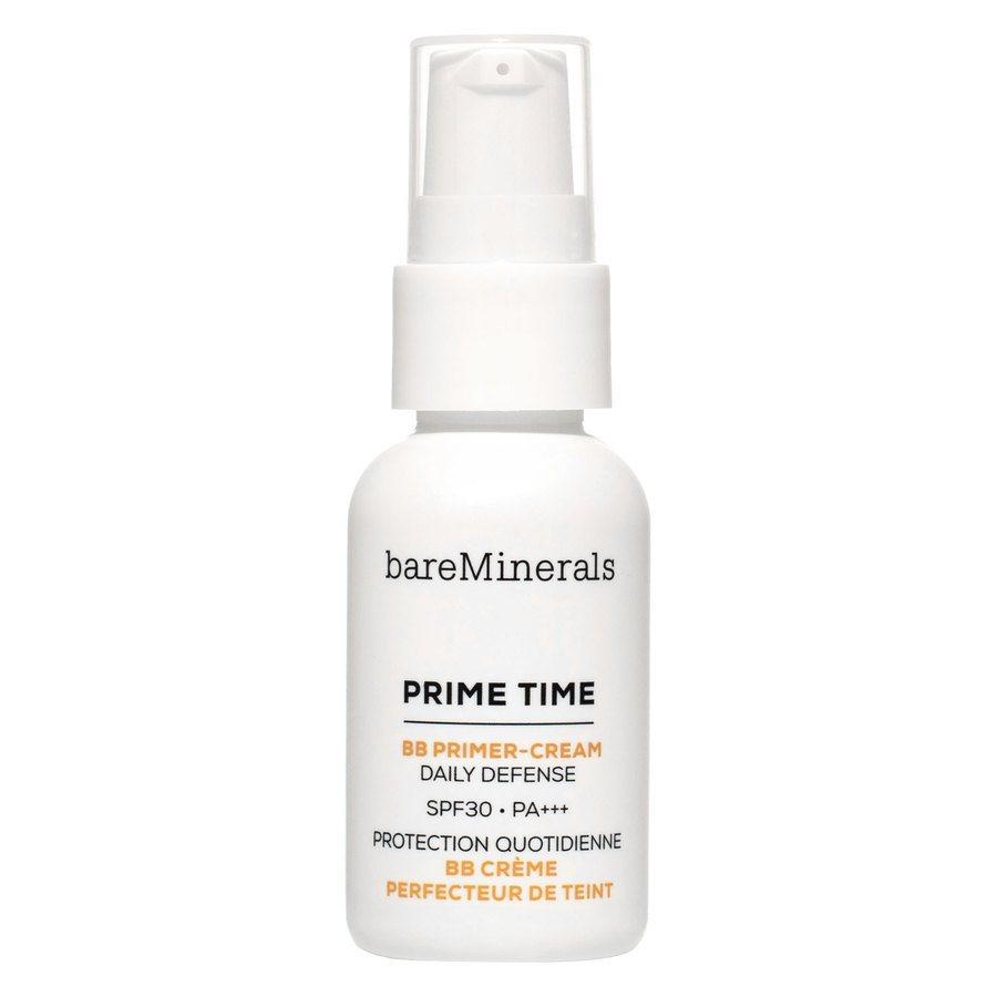 BareMinerals Prime Time BB Primer Cream Daily Defense SPF 30, Light (30 ml)