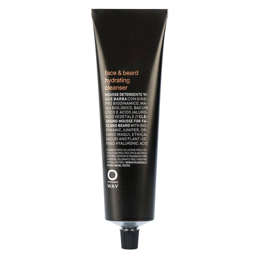Oway Men Face & Beard Hydrating Cleanser 150 ml