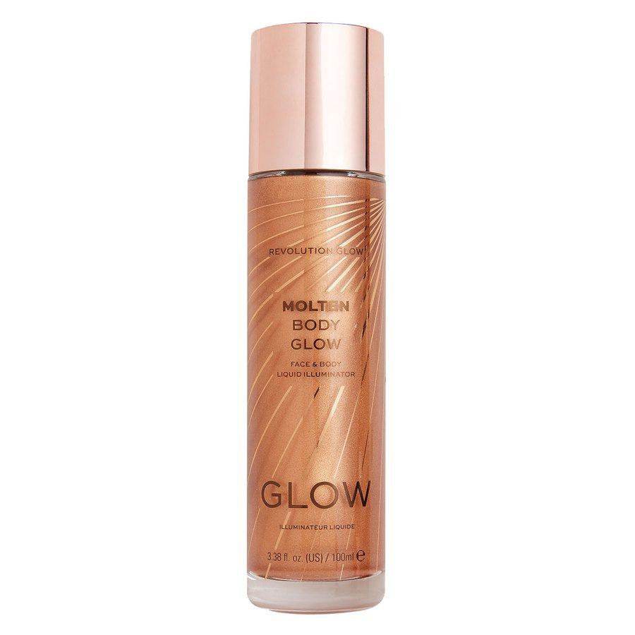 Makeup Revolution Molten Body Glow, Bronze (100 ml)