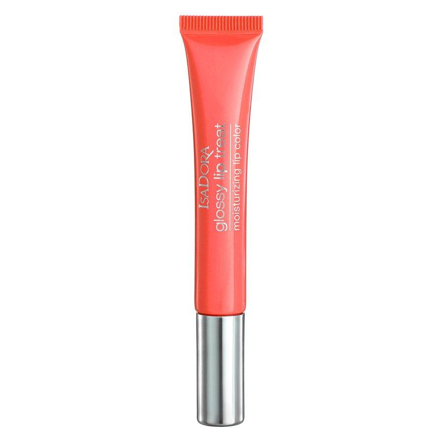 IsaDora Glossy Lip Treat, # 60 Coral Rush (13 ml)