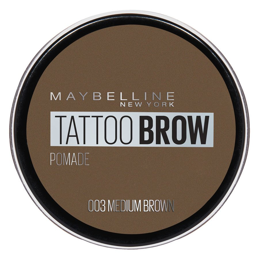 Maybelline Tattoo Brow Pomade Pot, Medium Brown