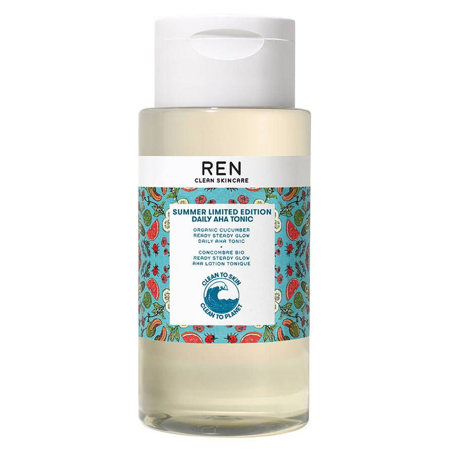REN Clean Skincare Ready Steady Glow Daily AHA Tonic Limited Edition 250ml