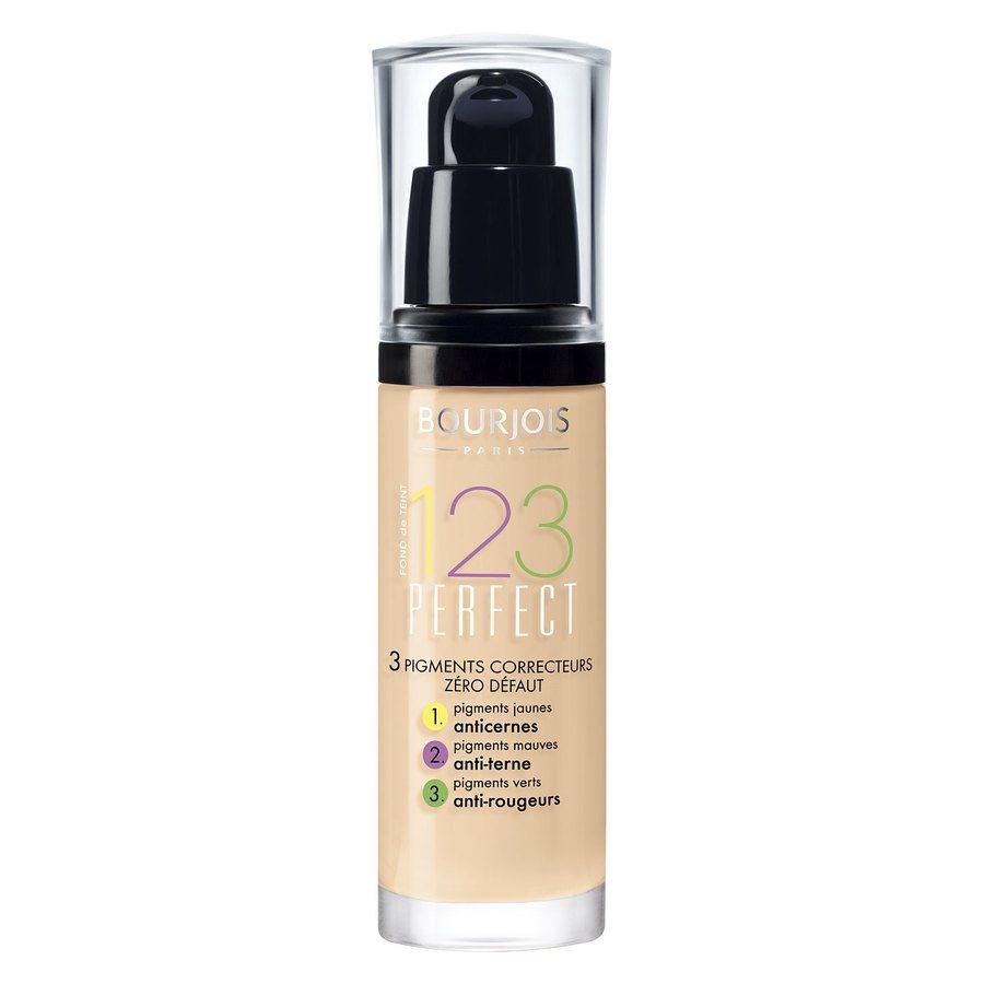 Bourjois 1,2,3 Perfect Foundation, 52 Vanilla (30 ml)