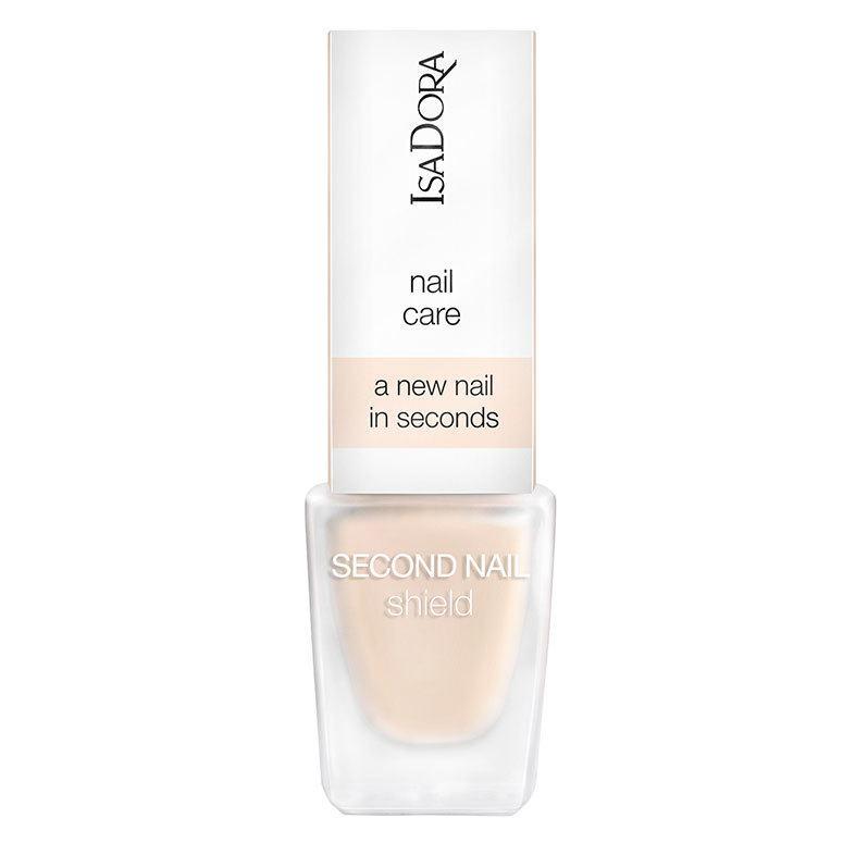 IsaDora Second Nail Hardener & Nail Shield, 002 Nude 6 ml