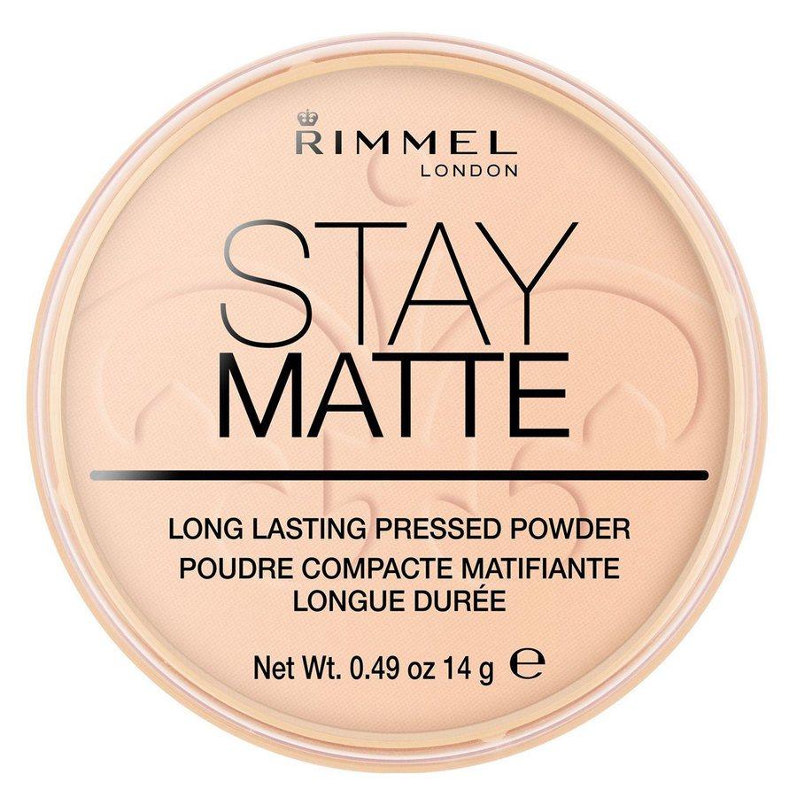 Rimmel Stay Matte Pressed Face Powder, Warm Beige 006 (14 g)