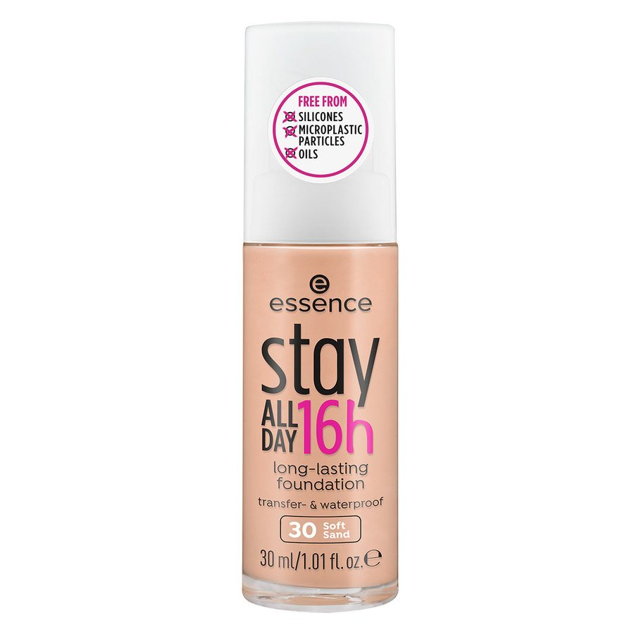 essence Stay All Day 16h Long Lasting Foundation, 30 30ml