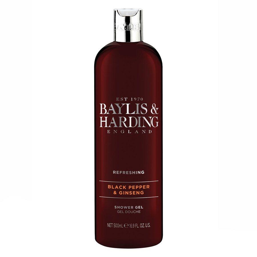 Baylis & Harding Signature Black Pepper & Ginseng Shower Gel (500ml)