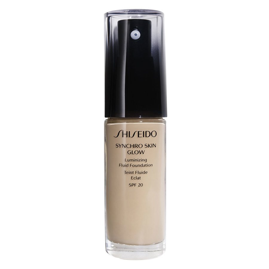 Shiseido Synchro Skin Glow Luminizing Foundation, Neutral #2 (30 ml)