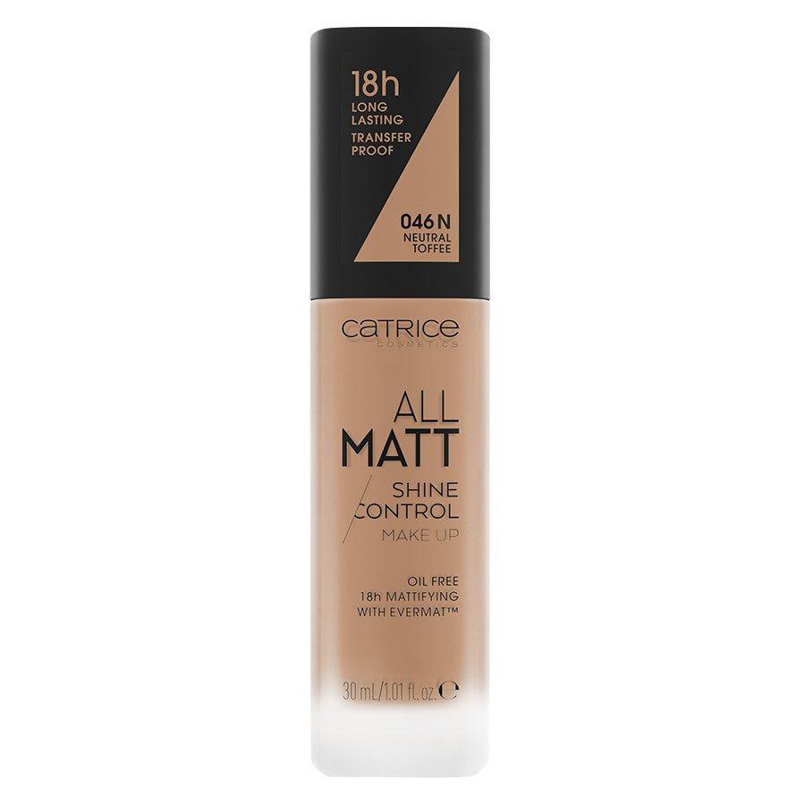 Catrice All Matt Shine Control Make Up, 046 N Neutral Toffee 30ml