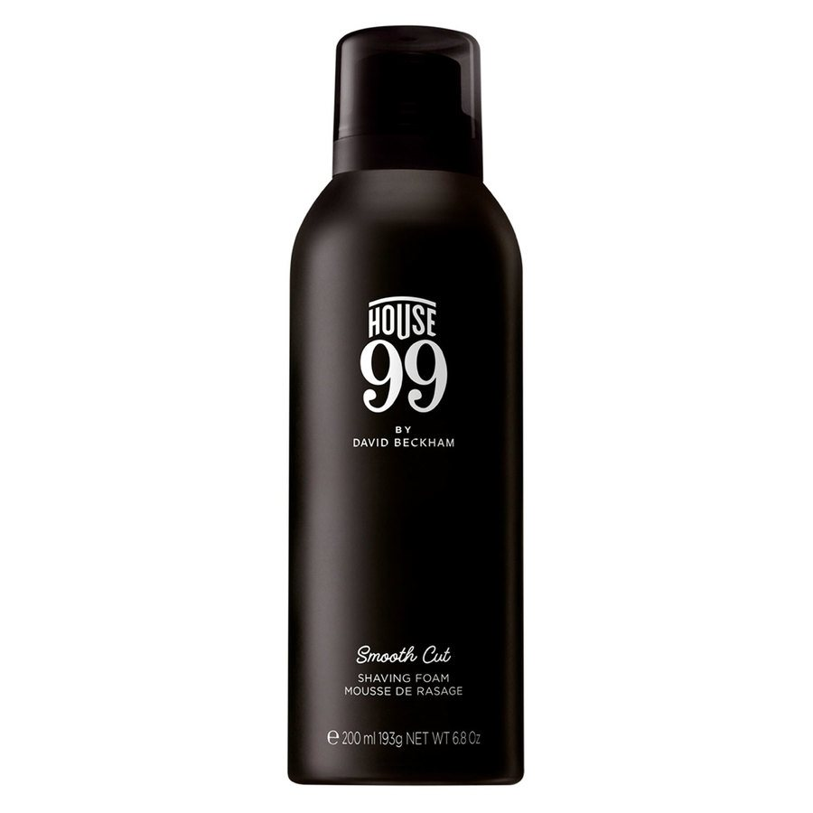 House 99 by David Beckham Smooth Cut Shaving Foam (200 ml)