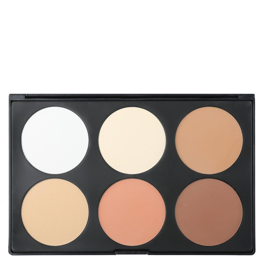 Smashit Cosmetics 6 Color Contour Powder Palette, Light Skin Mix 1