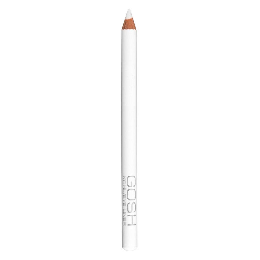 GOSH Kohl/Eye Liner, #004 White (1,1 g)
