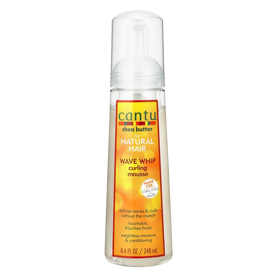 Cantu Shea Butter For Natural Hair Wave Whip Curling Mousse (248ml)