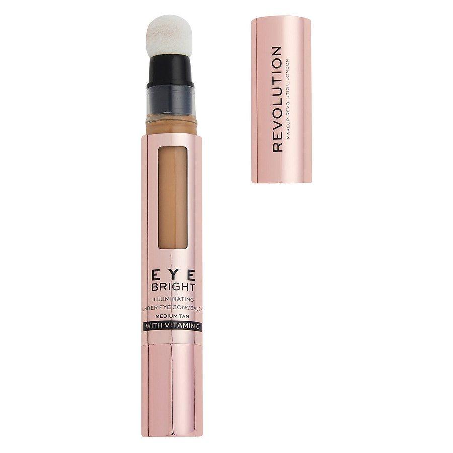 Revolution Beauty Makeup Revolution Eye Bright Illuminating Under Eye Concealer, Deep Tan 2,9 ml