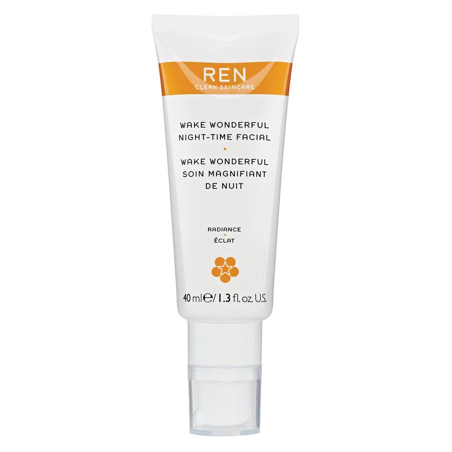 REN Clean Skincare Wake Wonderful Night-Time Facial (40ml)