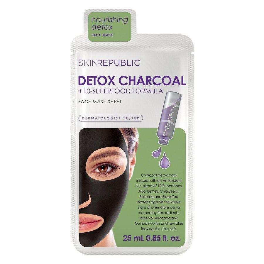 Skin Republic Bubble Purifying + Charcoal Face Mask (20 ml)