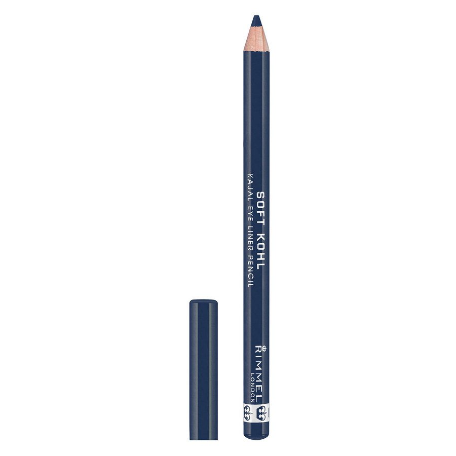 Rimmel London Soft Kohl Kajal Eye Liner Pencil, Denim Blue 1,2g