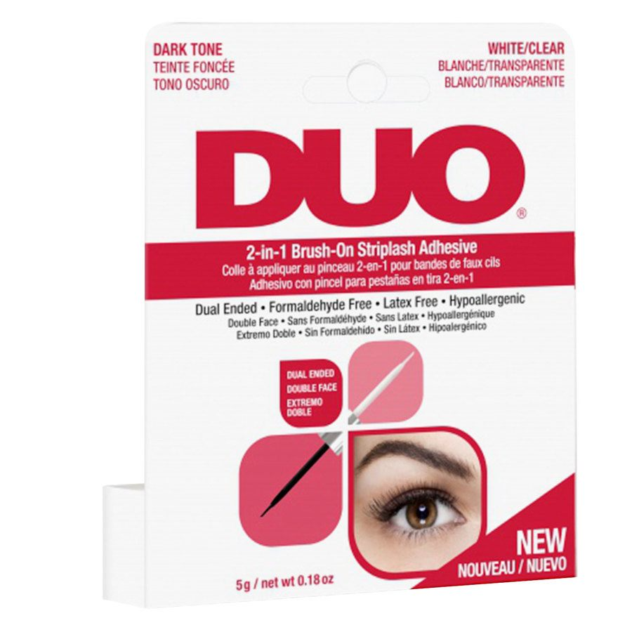Duo 2-In-1 Clear And Dark Brush On (5 g)