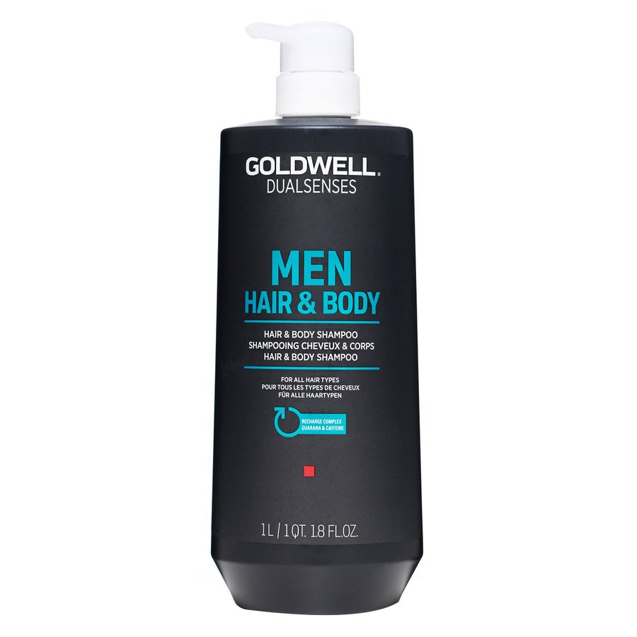 Goldwell Dualsenses Men Hair & Body Shampoo (1000 ml)
