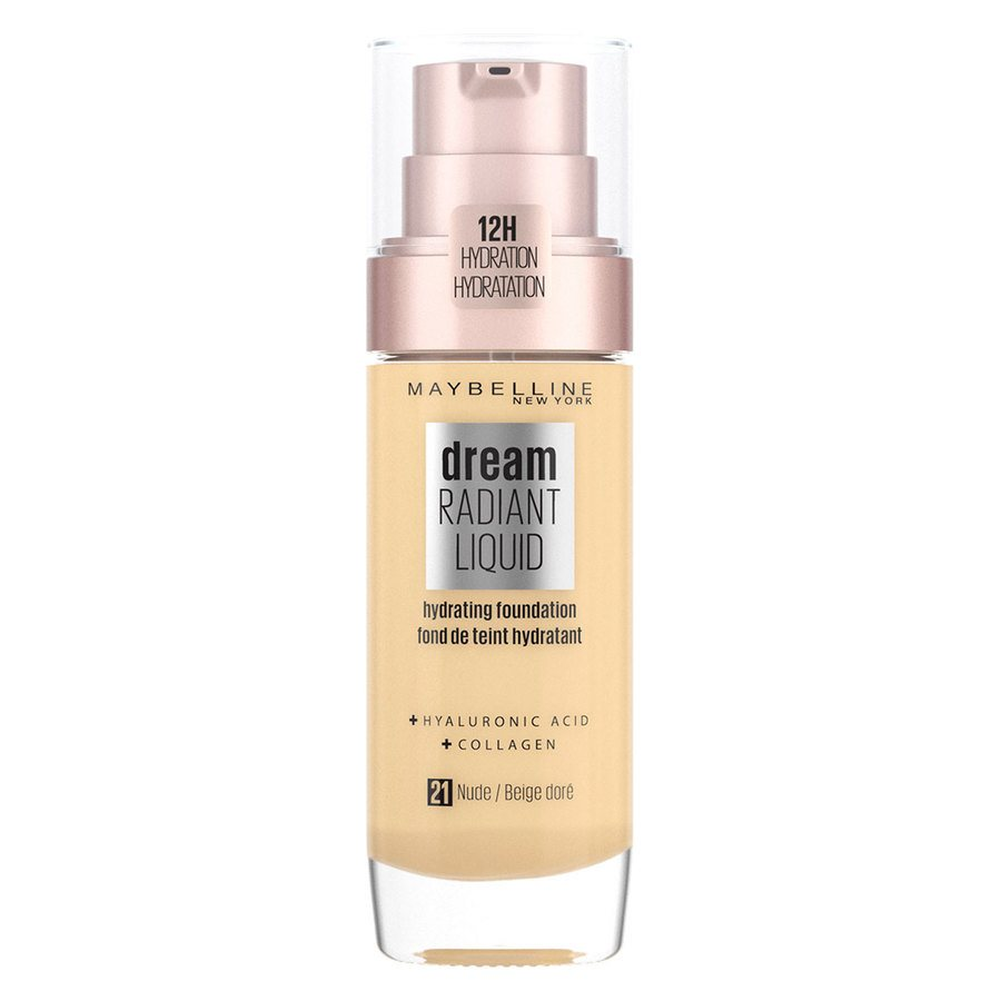 Maybelline Dream Radiant Liquid Foundation #21 Nude 30ml
