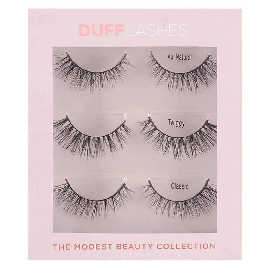 DUFFLashes The Modest Beauty Collection 3 Paar