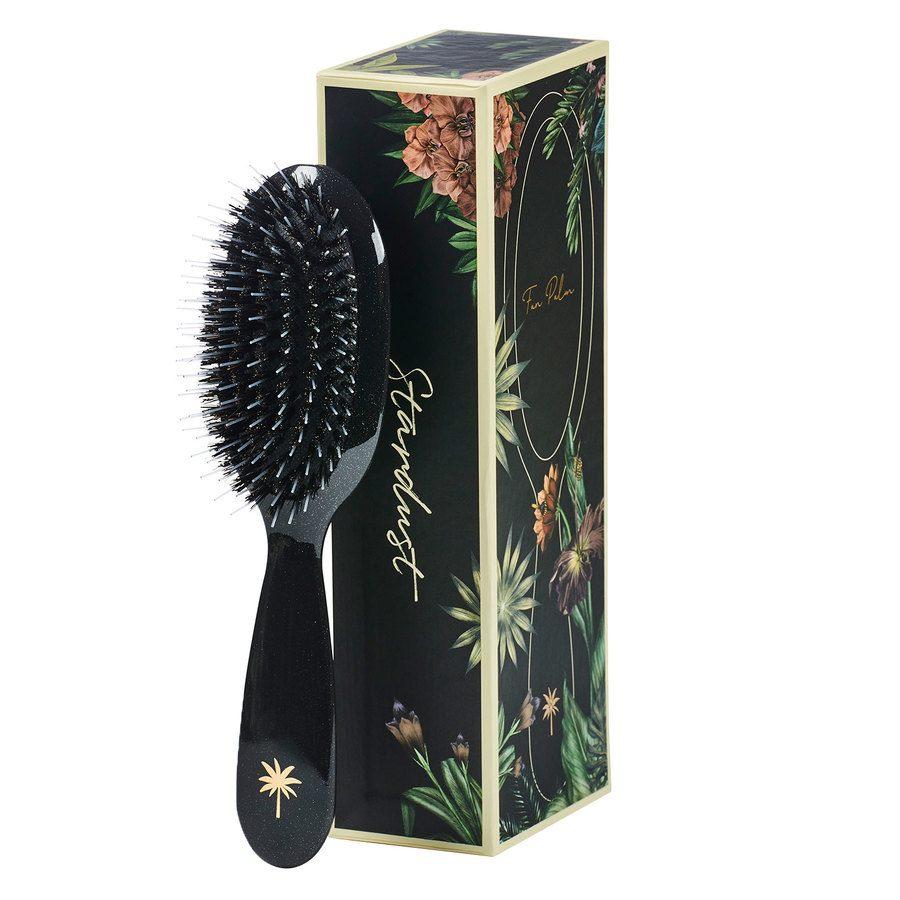 Fan Palm Boar & Nylon Brush Small, Stardust