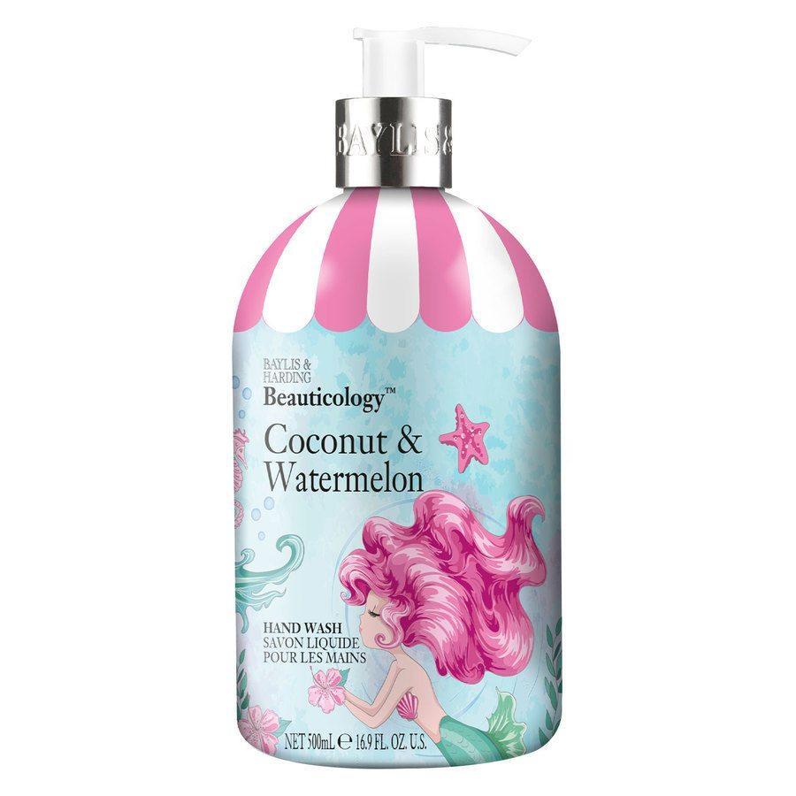 Baylis & Harding Beauticology Mermaid Hand Wash (500ml), Coconut & Watermelon