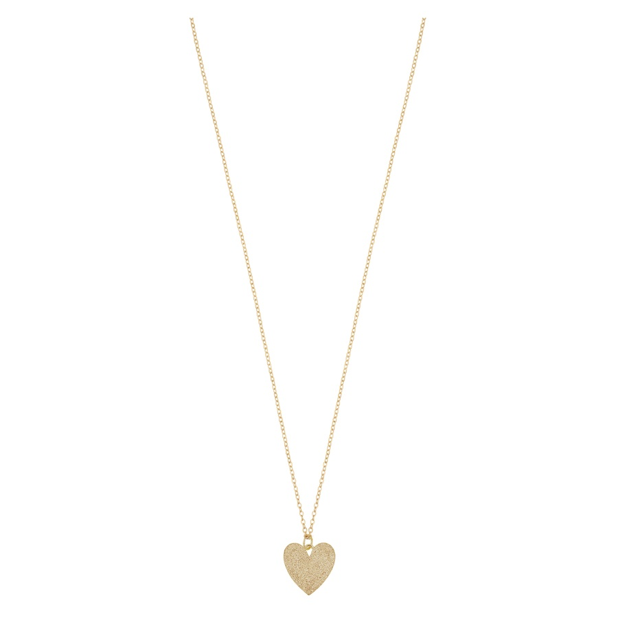 Snö of Sweden Mii Pendant Necklace, Plain Gold (42 cm)