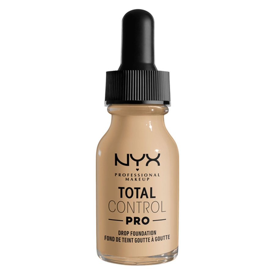 NYX Professional Makeup Total Control Pro Drop Foundation, Nude 13 ml
