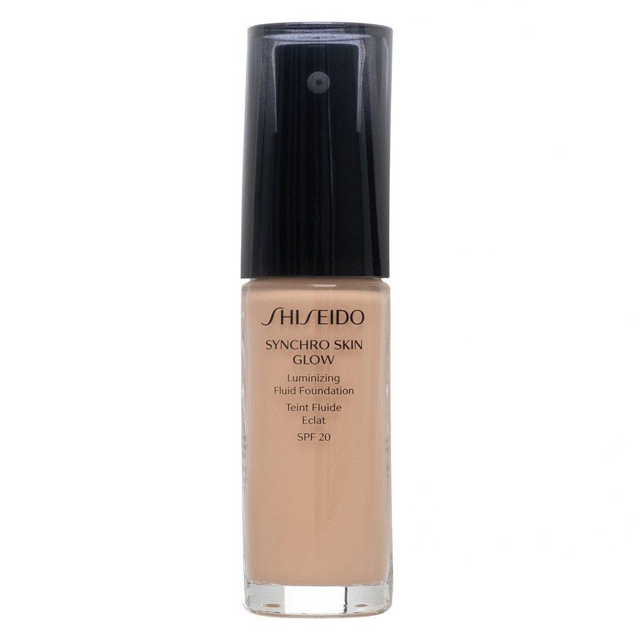 Shiseido Synchro Skin Glow Luminizing Foundation, Rose #3 (30 ml)