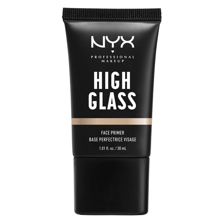 NYX Professional Makeup High Glass Face Primer, Moonbeam (30 ml)