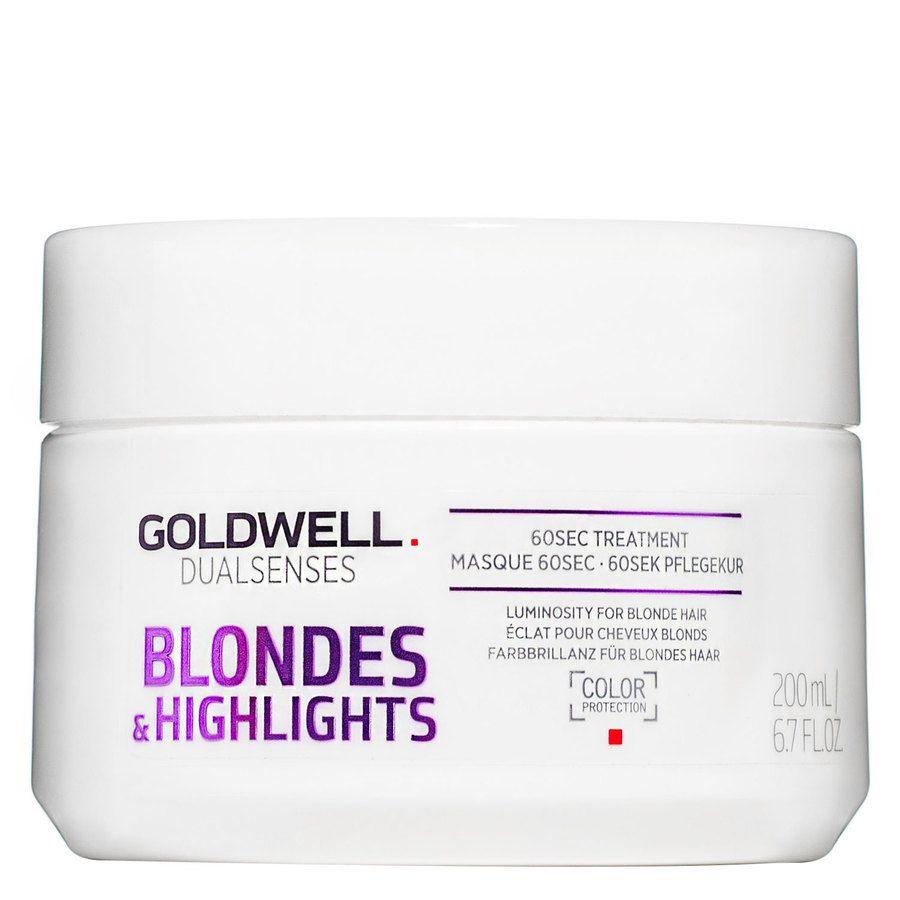Goldwell Dualsenses Blondes & Highlights 60sec Treatment 200ml