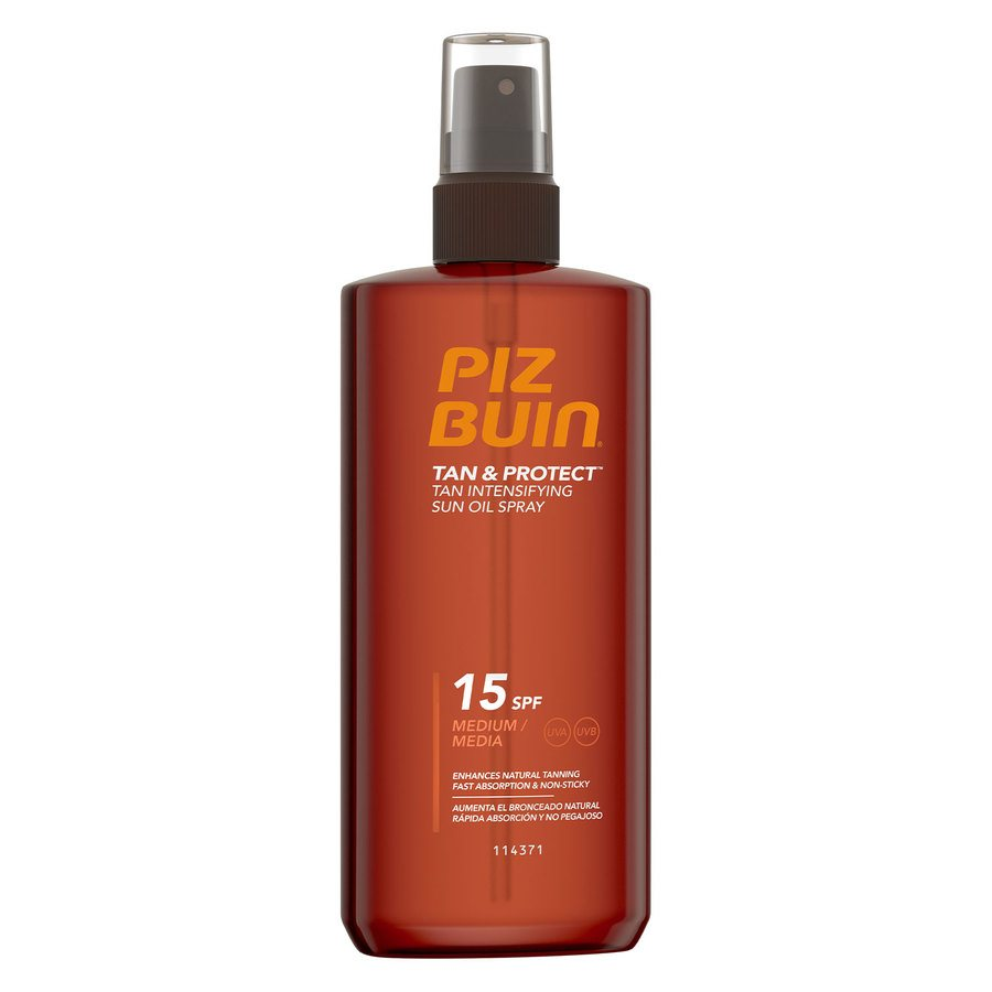 Piz Buin Tan & Protect Tan Intensifying Oil SPF15 150ml