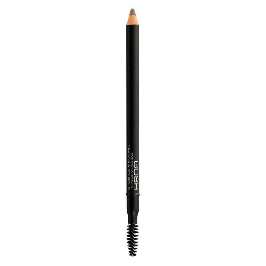 GOSH Eye Brow Pencil, #001 Brown (1,2 g)