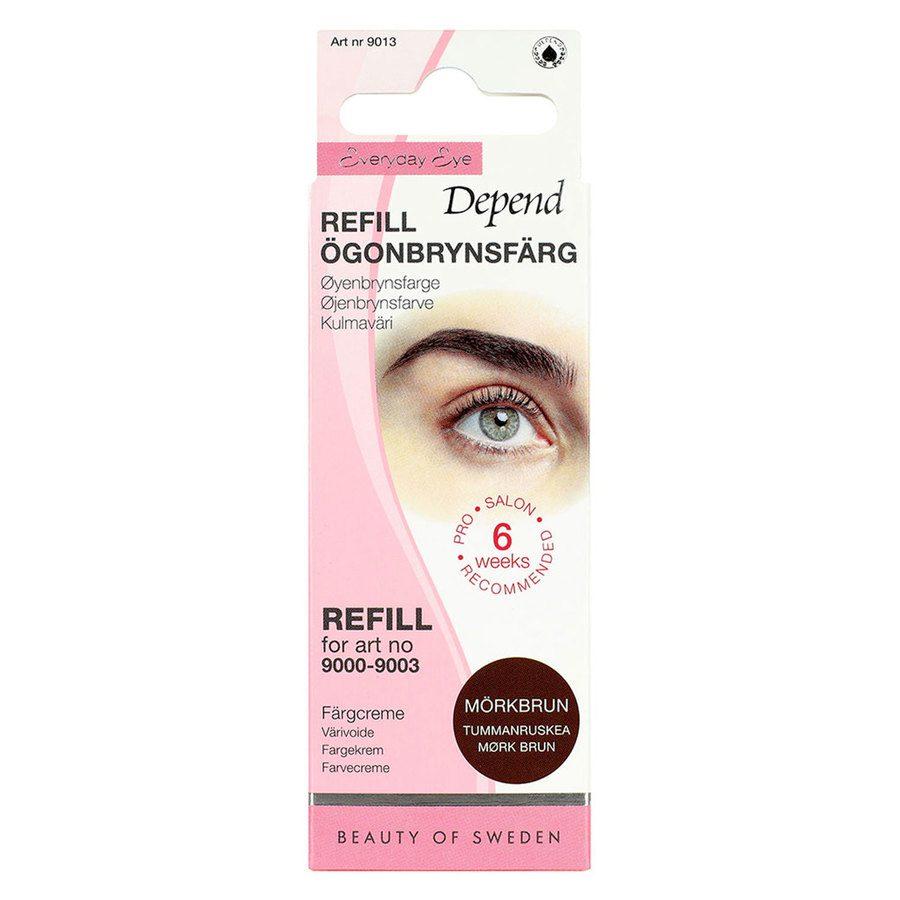 Depend Eyebrow Colour Refill, Dark Brown 5 g
