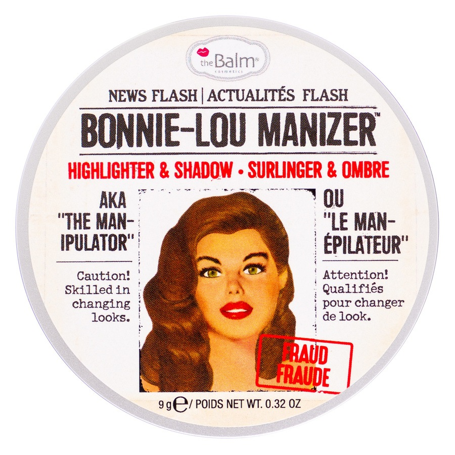theBalm Bonnie-Lou Manizer Aka Highlighter, Shimmer & Eyeshadow (8,5 g)