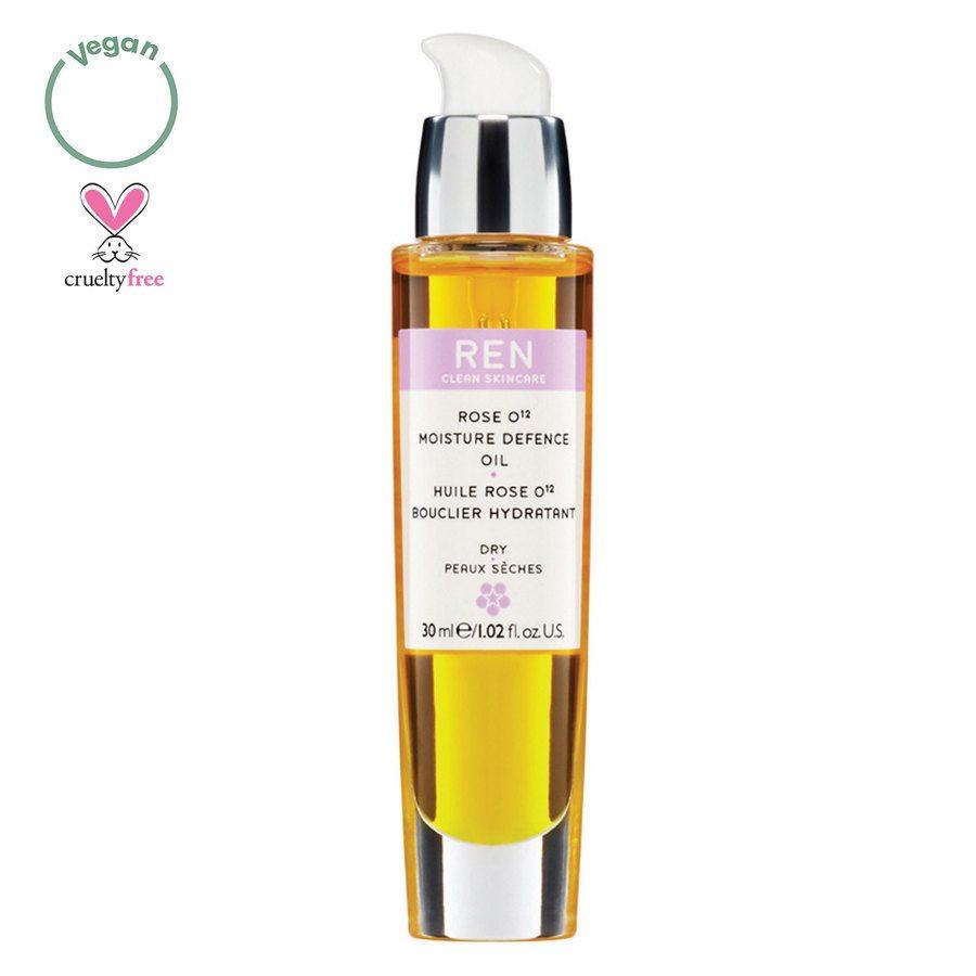 REN Clean Skincare Rose O12 Moisture Defense Serum Oil (30 ml)
