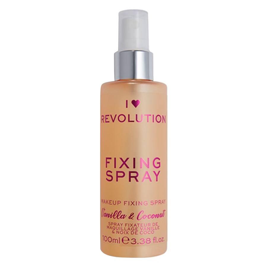 Makeup Revolution I Heart Scented Fixing Spray, Vanilla & Coconut (100 ml)